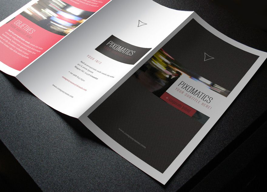 free tri fold brochure vol 2 by pixeden on deviantart mags
