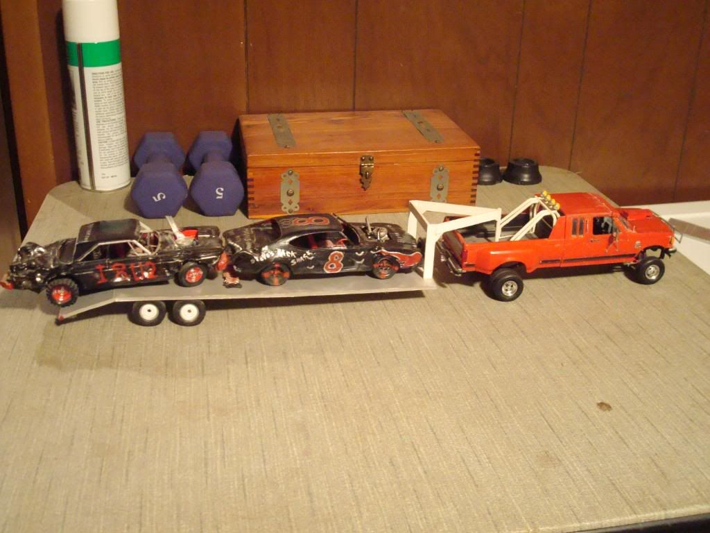 Coloring derby cars - Derby Car Reall Derbcars Turcks Its Hauling A Couple Of Demolition Derby Cars That I