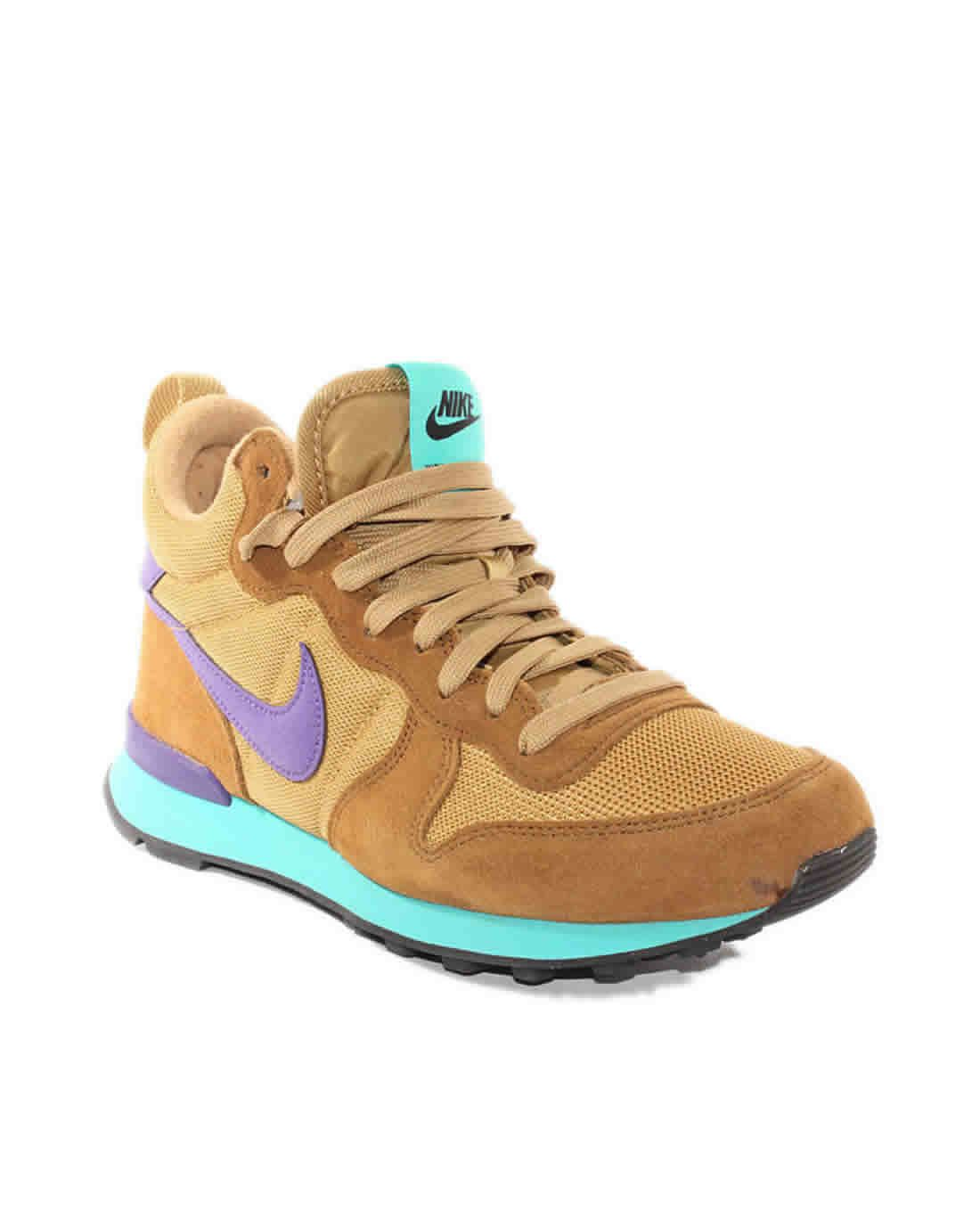 zapatillas nike marrones
