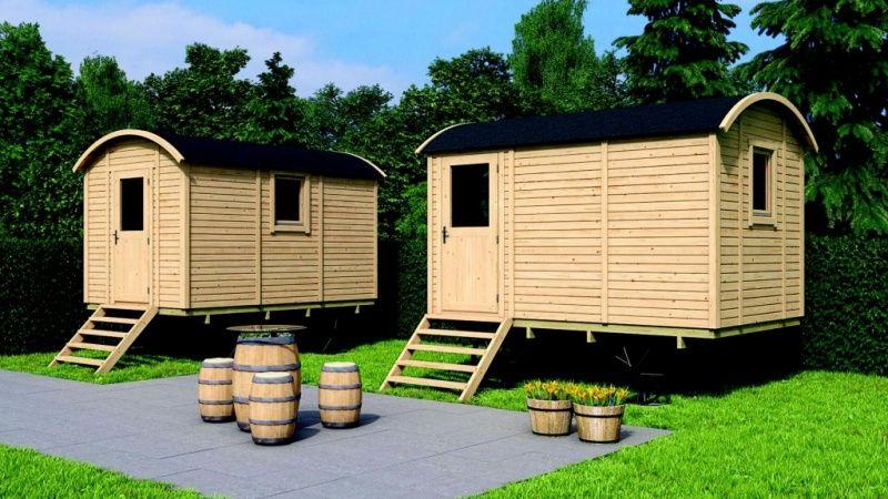 HolzBauwagen 360 Zirkuswagen, Gartenhaus holz und Bauwagen