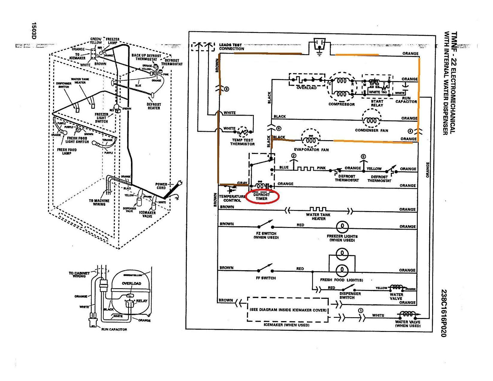 Wiring Diagram Symbols Double Door Fridge Wiring Diagram Doubledoorfridgewiringdiagram Whe Refrigerator Compressor Trailer Wiring Diagram Ge Refrigerator