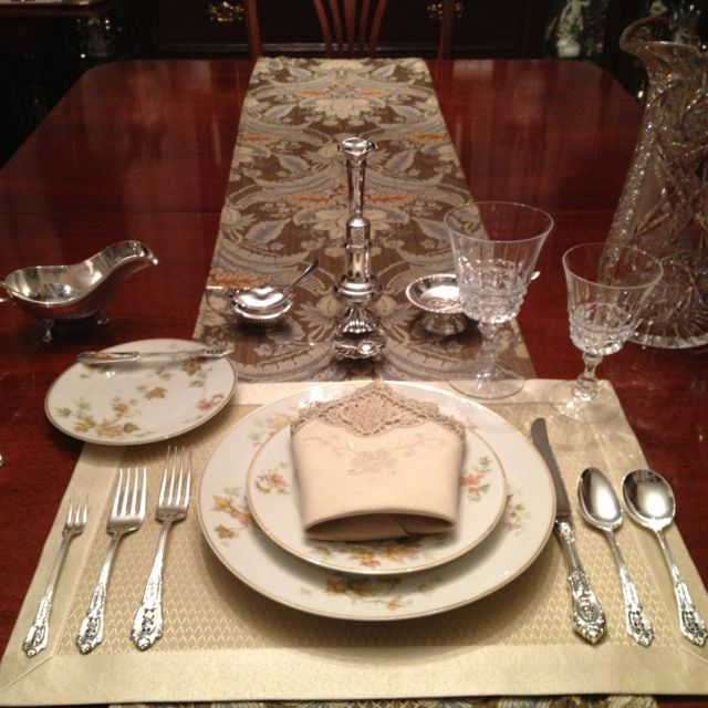 Fancy Place Setting Wine Recipes Romantic Dinners Food