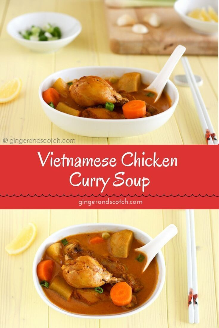 Make This Vietnamese Chicken Curry With Store Bought Or With My Homemade Vietnamese Curry Powder Like All Curry Chicken Vietnamese Chicken Curry Curry Recipes