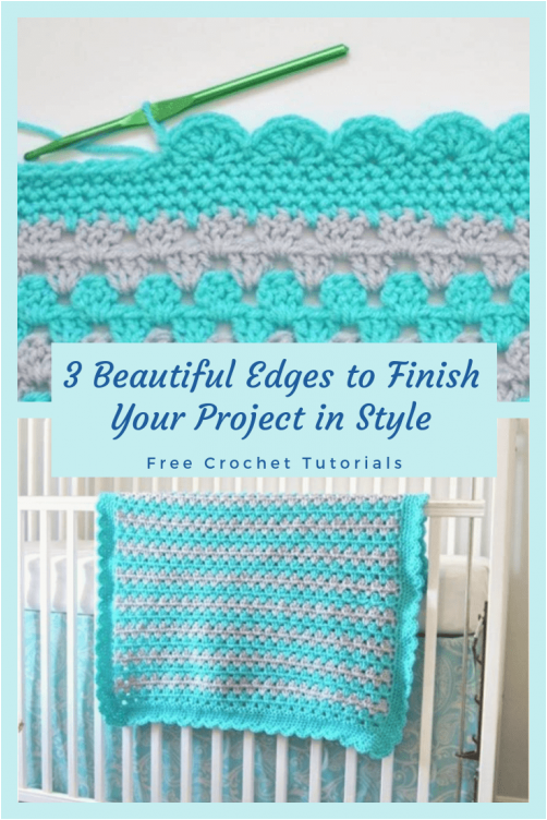 You've completed your crochet blanket, but there's something missing. Here, we g... #You've #completed #your #crochet #blanket, #but #there's #something #missing. #Here, #g...