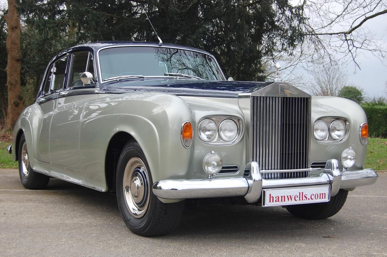 1964 Rolls Royce Silver Cloud Iii Finished In Blue Over Shell Grey