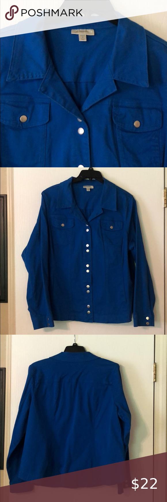 Royal Blue Denim Jacket Women S 2 X Denim Jacket Women Jackets For Women Blue Denim Jacket [ 1740 x 580 Pixel ]