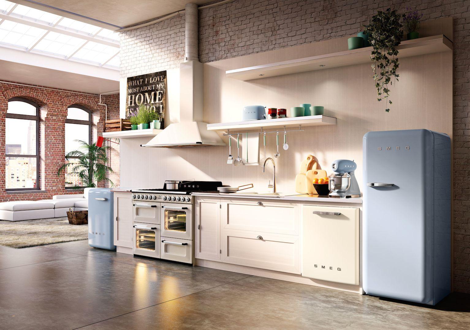 Jaren 50 Keuken : Smeg keukenapparatuur jaren product in beeld startpagina