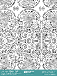 Abstract Doodle Zentangle Coloring pages colouring adult detailed advanced printable Kleuren voor volwassenen coloriage pour adulte anti-stress kleurplaat voor volwassenen Free coloring page from Posh Coloring series