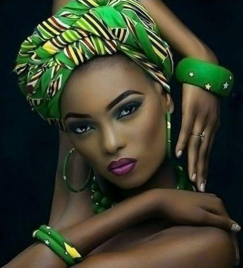 Wunderschöne 49 Head Wraps für afroamerikanische Frauen #afrikanischefrauen