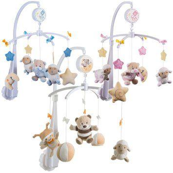 Musikmobile PETI /& PETRILLA Baby Musik Mobile Spieluhr Musikuhr Einschlafhilfe