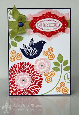 Stampin' UP! by First Hand Emotion: Betsy's Blossom