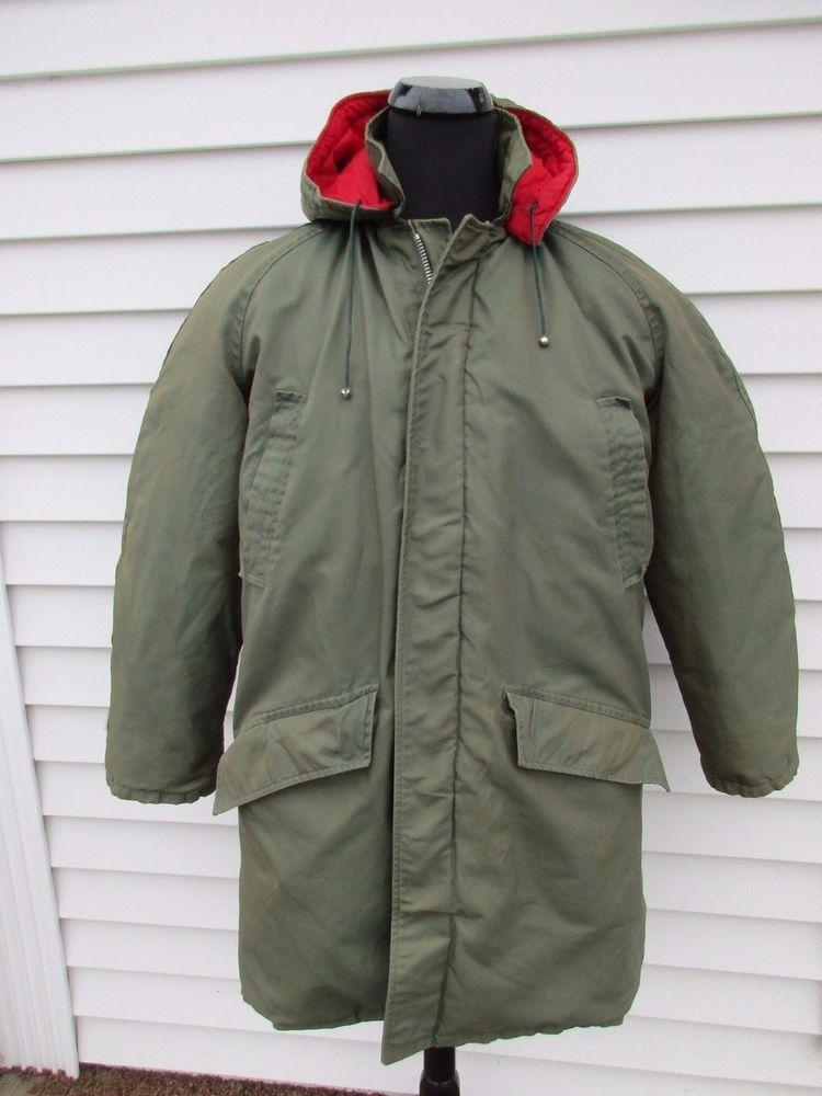 Bag Coat lBean Vintage Down Woods L Label Parka Cursive Arctic KFu3TJcl1