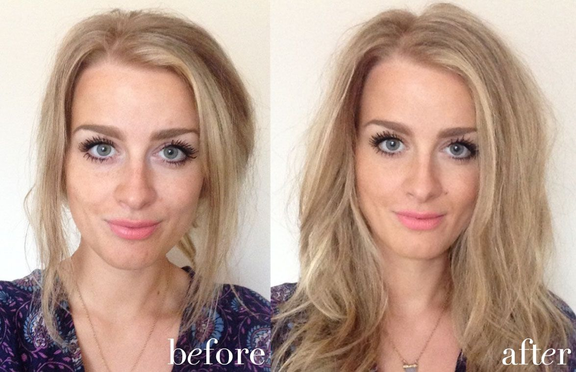 bareminerals original foundation before and after