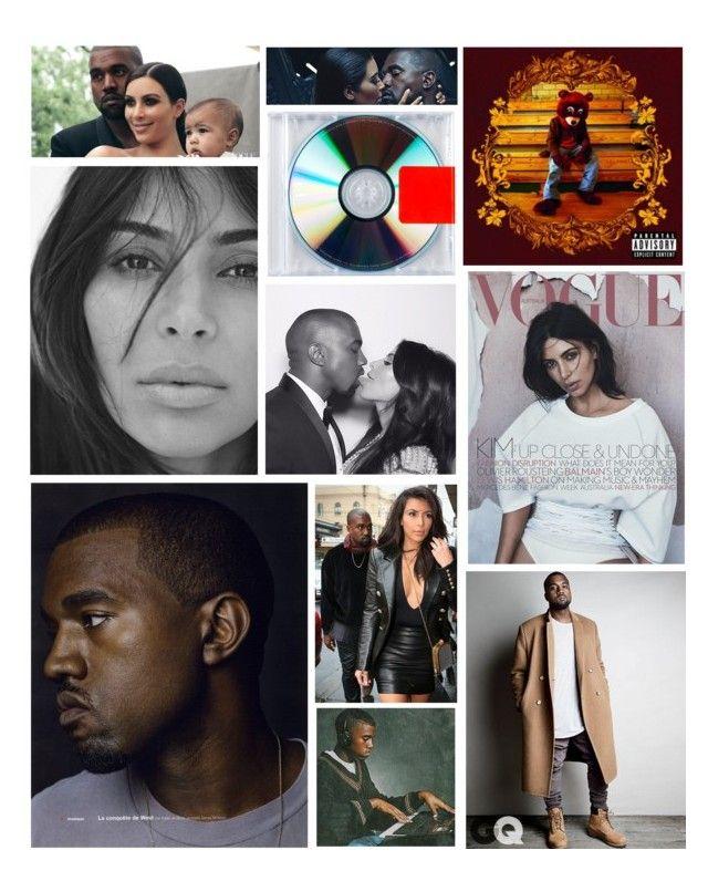 Kanye West & Kim Kardashian West (With images) Kanye