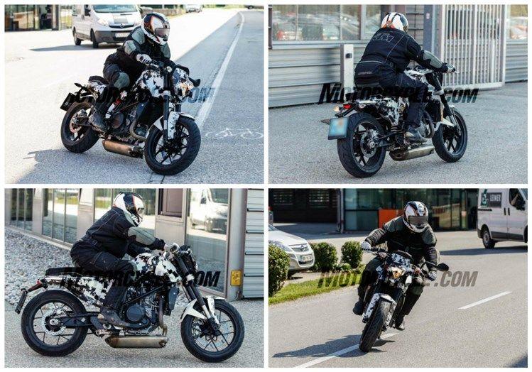 Será que estas fotos são da futura Husqvarna 701 Cafe Racer?
