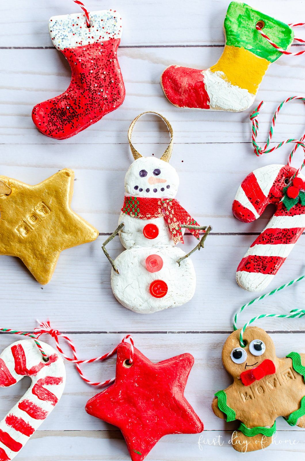 How to Make Salt Dough Ornaments the Kids Will Love ...