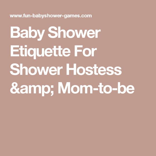 Baby Shower Etiquette For Shower Hostess U0026 Mom To Be