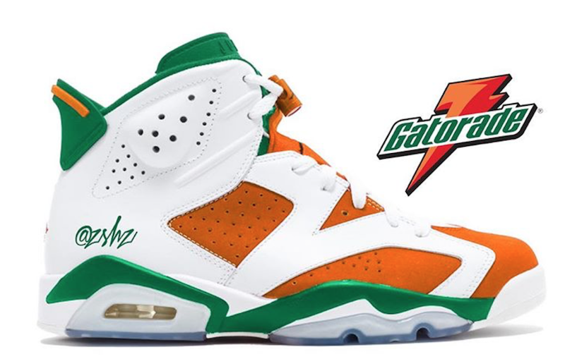 Gatorade Air Jordan 6 Release Date. Inspired by the