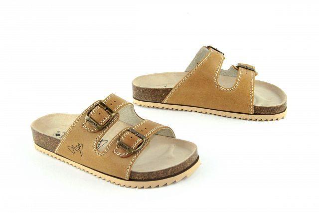 96c5ab1f50f Zdravotní obuv Jasný pantofle 2002 PR2 písková 1119