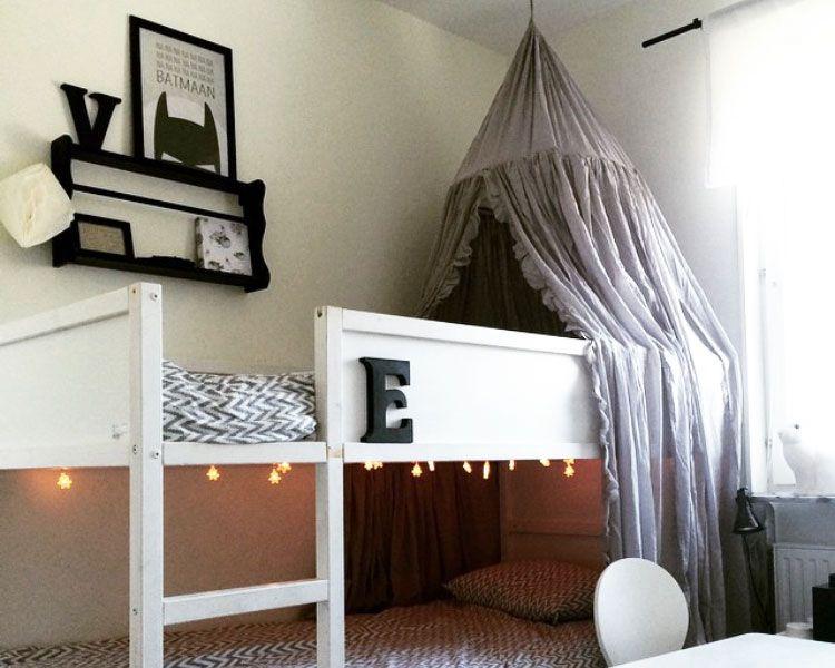 ikea kura hack deko ideen zum hochbett klassiker m bel. Black Bedroom Furniture Sets. Home Design Ideas