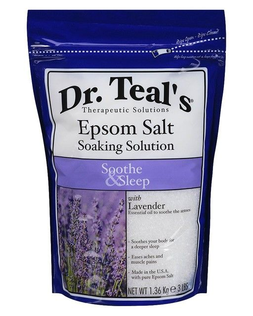 Dr. Teal's Epsom Salt Soaking Solution Soothe & Sleep - 3 lb. | LuckyShops