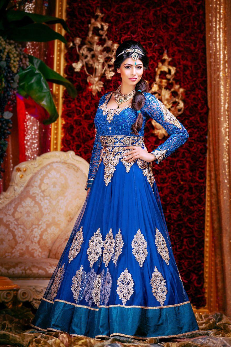 Princess Indian Bride Dresses
