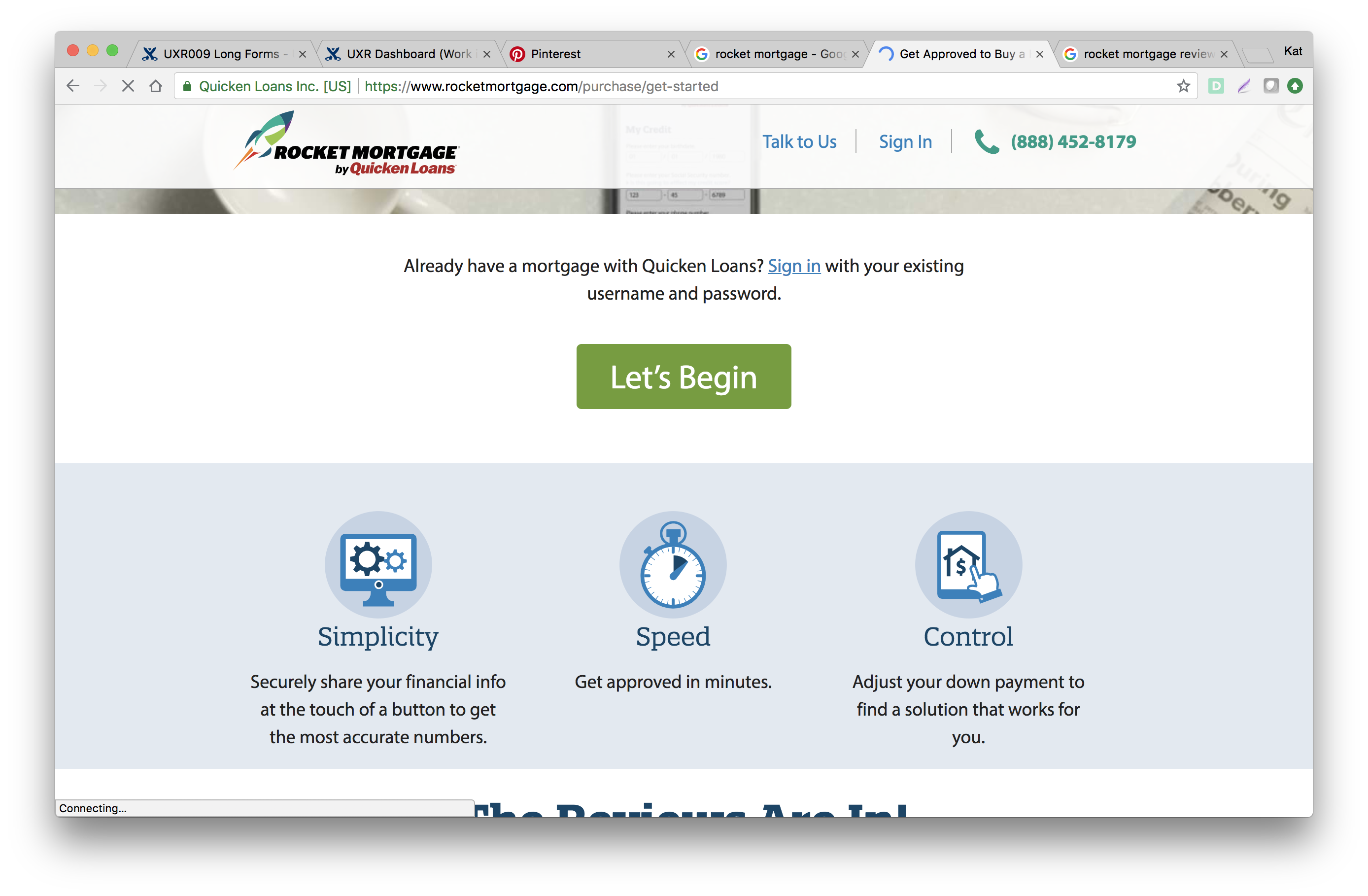 How This Tool Is Being Marketed Simplicity Speed And Control These Are Good Benchmarks Against Which We Can Measur Rocket Mortgage Simplicity Quicken Loans