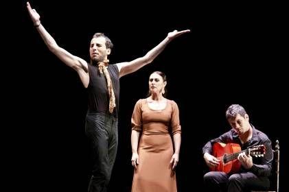 El bailaor gaditano Marco Flores llena el Rialto de flamenco con su espectáculo 'Tránsito' - Cultur Plaza