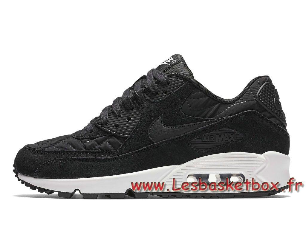Nike WMNS Air Max 90 Premium Black Black-Ivory 443817_009 Femme/Enfant Nike  Prix Chaussures Noires - 1706241033 - Le Originals Nike Air Max(Urh) A  Vendre ...