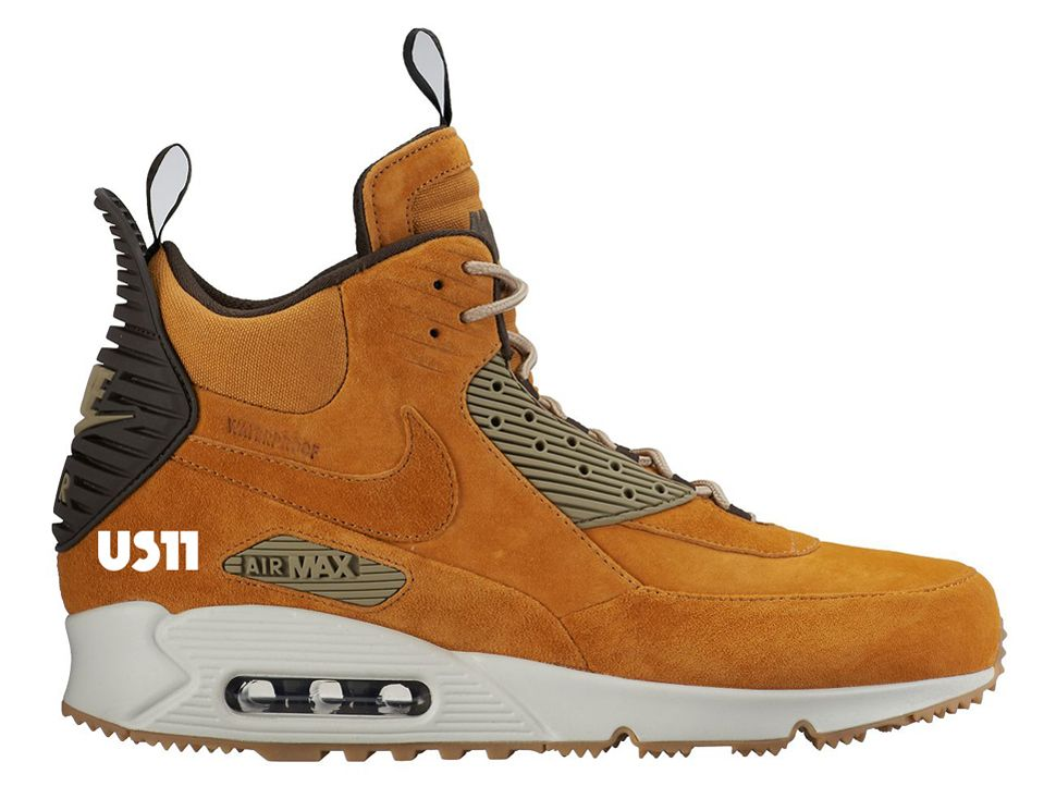 quality design 10cbd 2af48 After making a splash in 2014, the bulked up Nike Air Max 90 Winterized  Sneakerboot