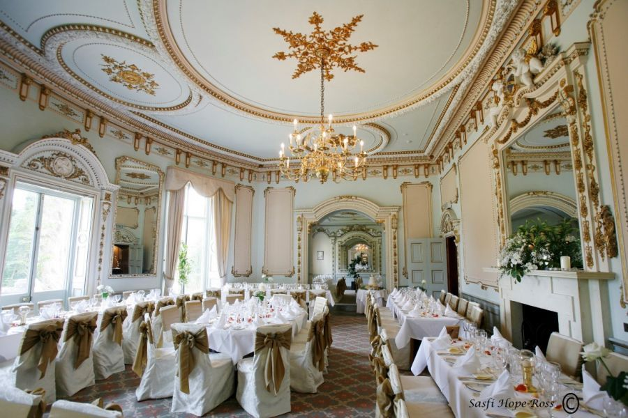 Markree Castle, Sligo. I felt like royalty eating in this