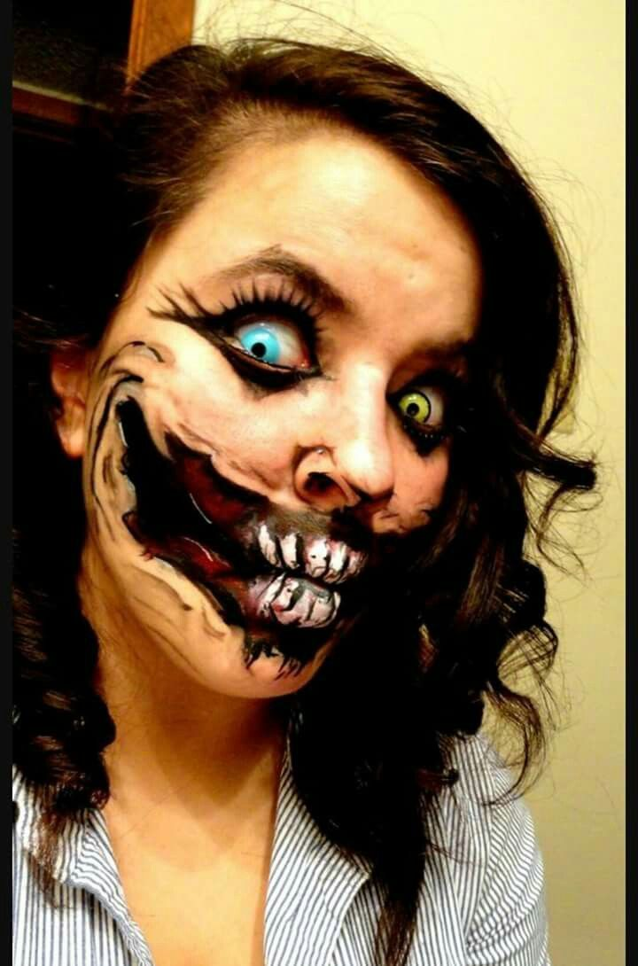 Pin By Madelyn Dubon On Halloween Looks Face Painting Halloween