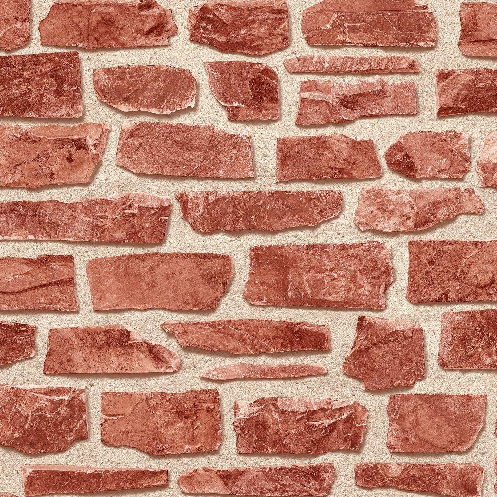 Vinyl for brick wall - Holden Decor Holden D Cor Brickwork Red Brick Wall Textured Vinyl Wallpaper 20899