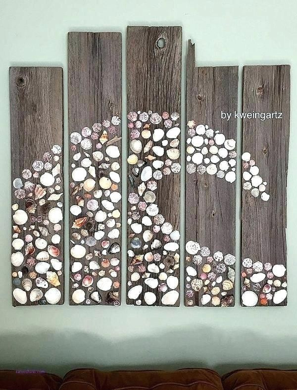 Pin By Riekero On Gardening Outdoor Decorating Seashell Wall Art Seashell Projects Seashell Crafts