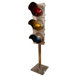 American Upcycled Traffic Light C1960s Traffic Light Light Old Things