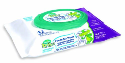 Pampers Kandoo Kandoo Flushable Wipes Sensitive Soft Tub