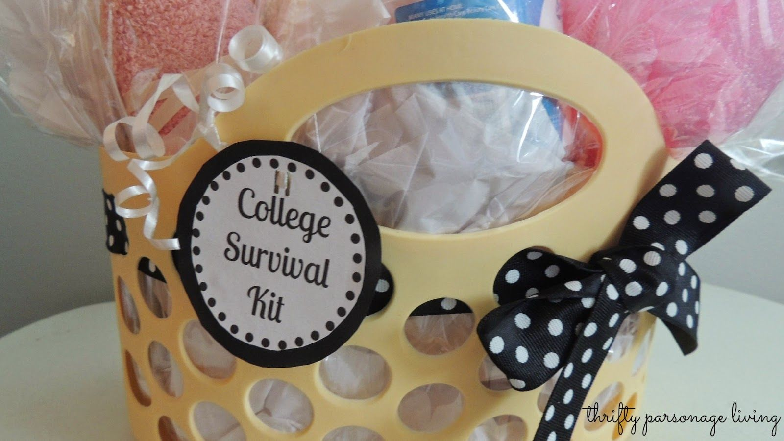 Thrifty parsonage living diy graduation gift college survival kit thrifty parsonage living diy graduation gift college survival kit solutioingenieria Images