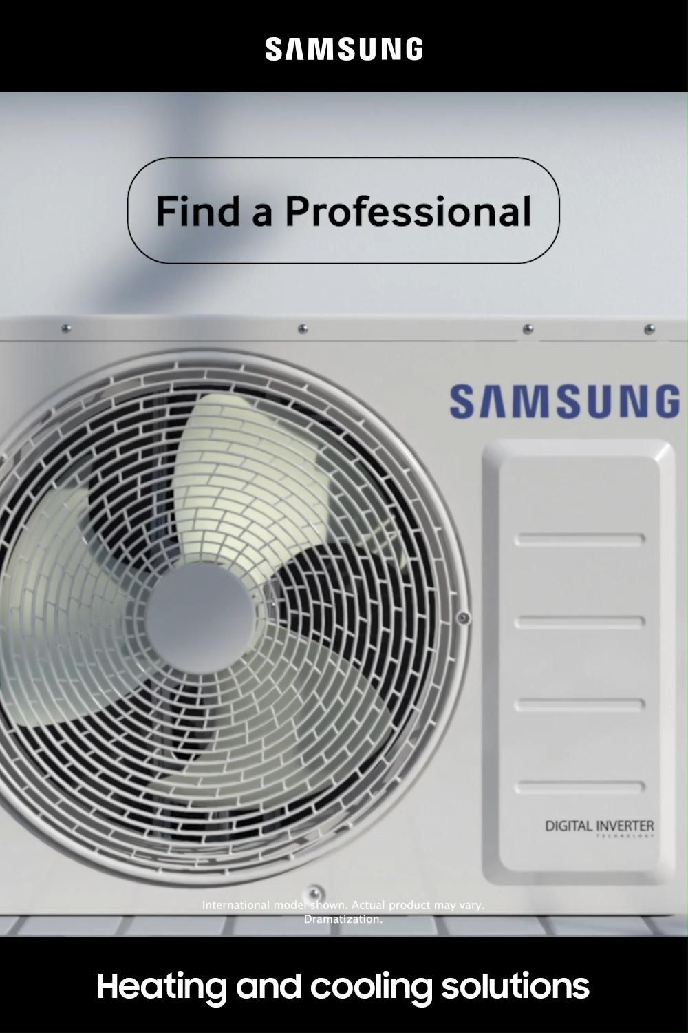 Samsung Heating And Cooling Solutions Video In 2020 Heating