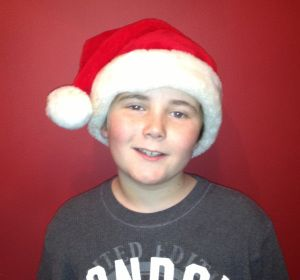 Seth Wagner was cast as one of the kids in The Santa Diaries, Avalon production 2012.
