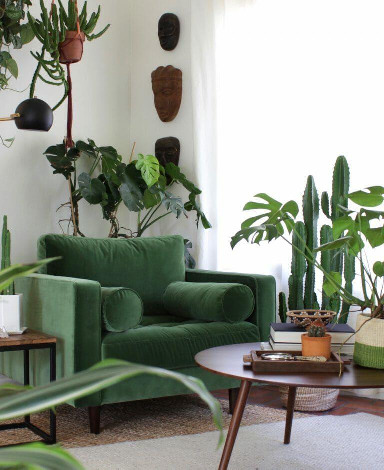Sven Grass Green Chair Living Room Green Cheap Living Room Furniture Home Decor