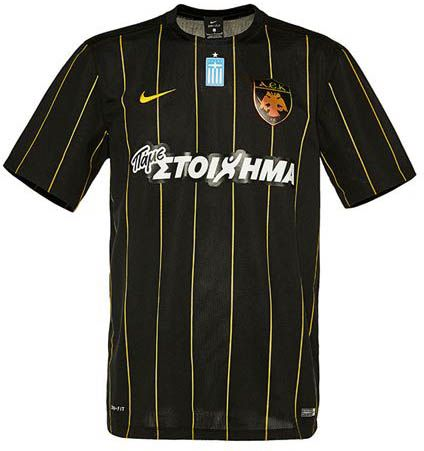 The new Nike AEK FC home kit introduces one of the classiest kit designs of  the