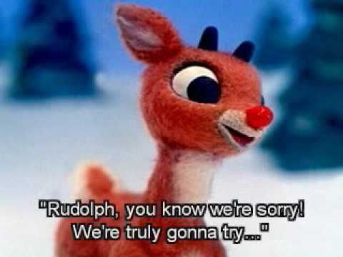 Merry Christmas And A Happy New Year Rudolph The Reindeer Red Nosed Reindeer Rudolph The Red Frosty The Snowmen