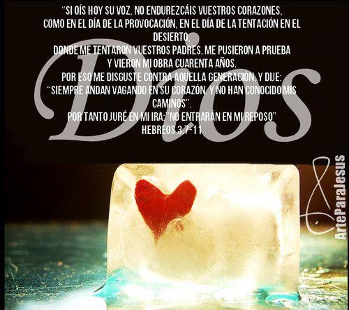 Hebreos 3:7-11