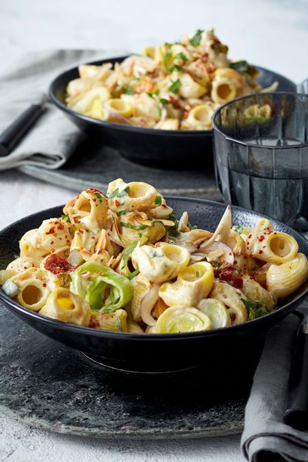 Photo of Creamy pasta with leek recipe