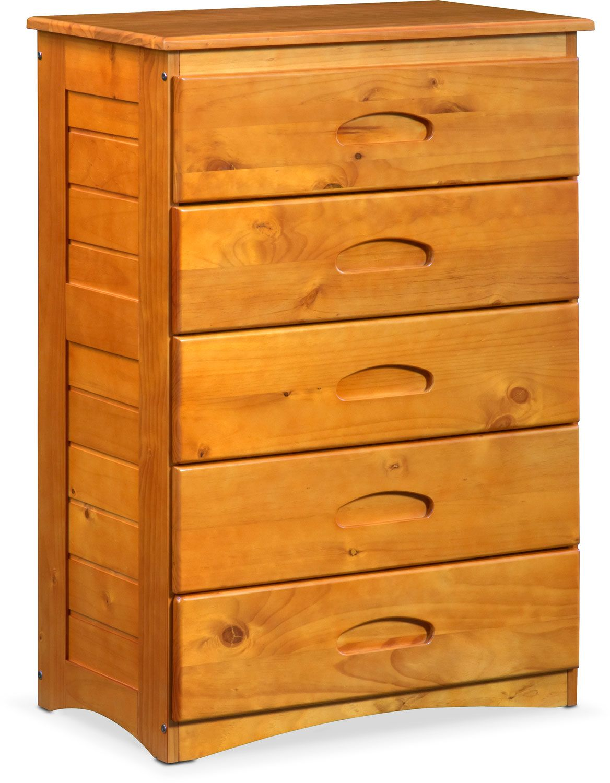 Ranger Chest Pine Value city furniture, American