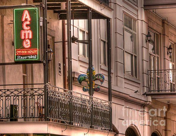 Acme Oyster House In The French Quarter Best Of New Orleans Nouvelle Orleans Oyster House