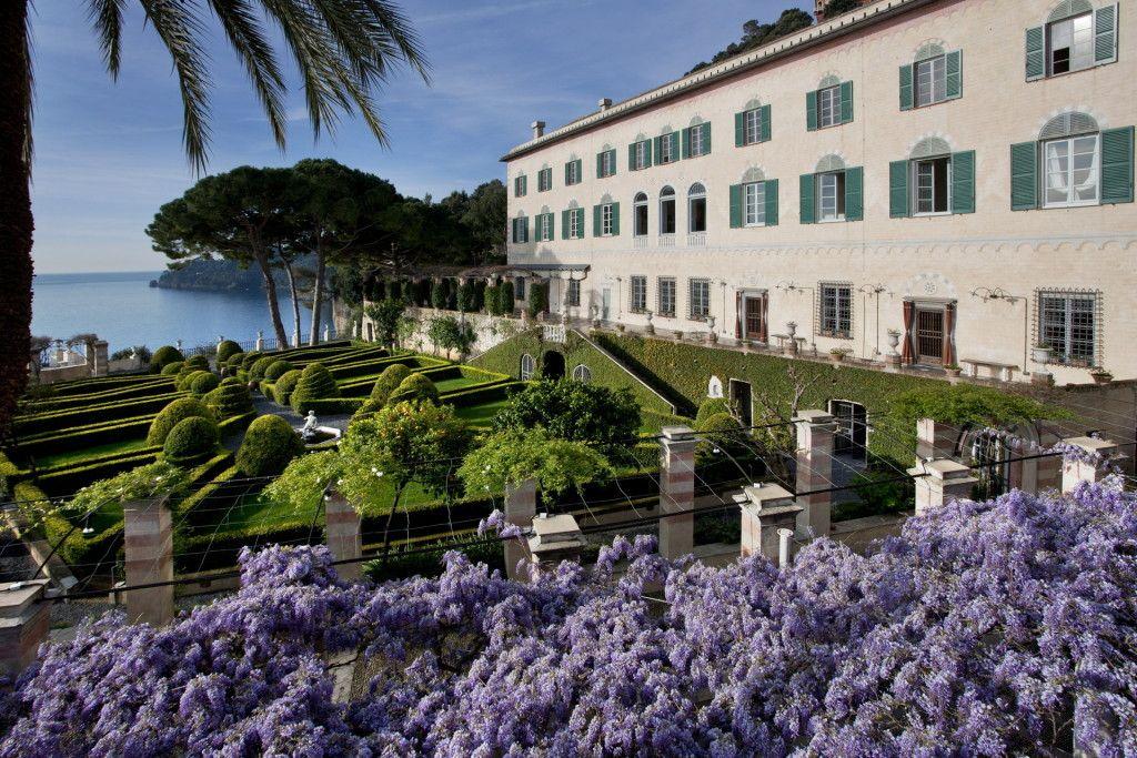 Italy, Gardens and Parks Cervara, Liguria Castle