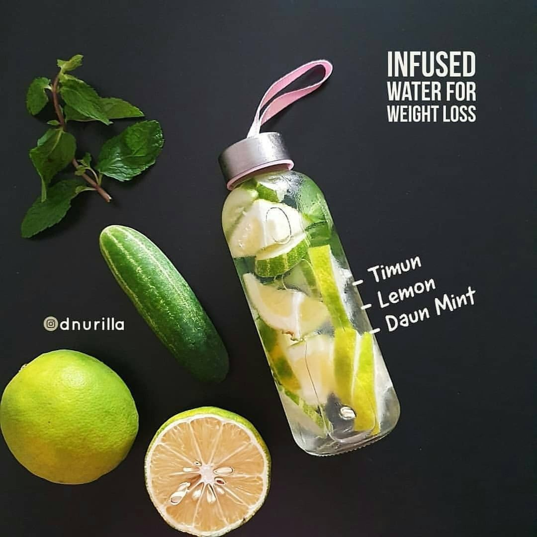 Reposted From Nbsp Nbsp Dnurilla Nbsp Nbsp Bismillah Infused Water Untuk Menurunkan Berat Badan Bisa Bua Infused Water Makanan Berprotein Diet Detoks