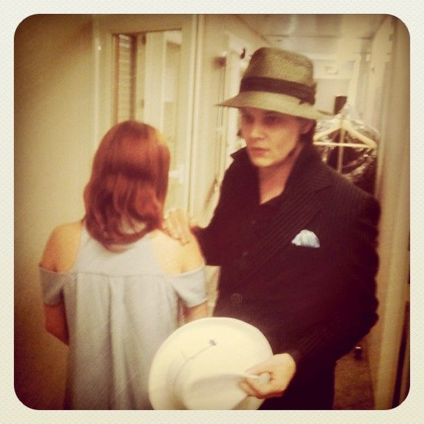 Jack White And A Red Head (of Course)