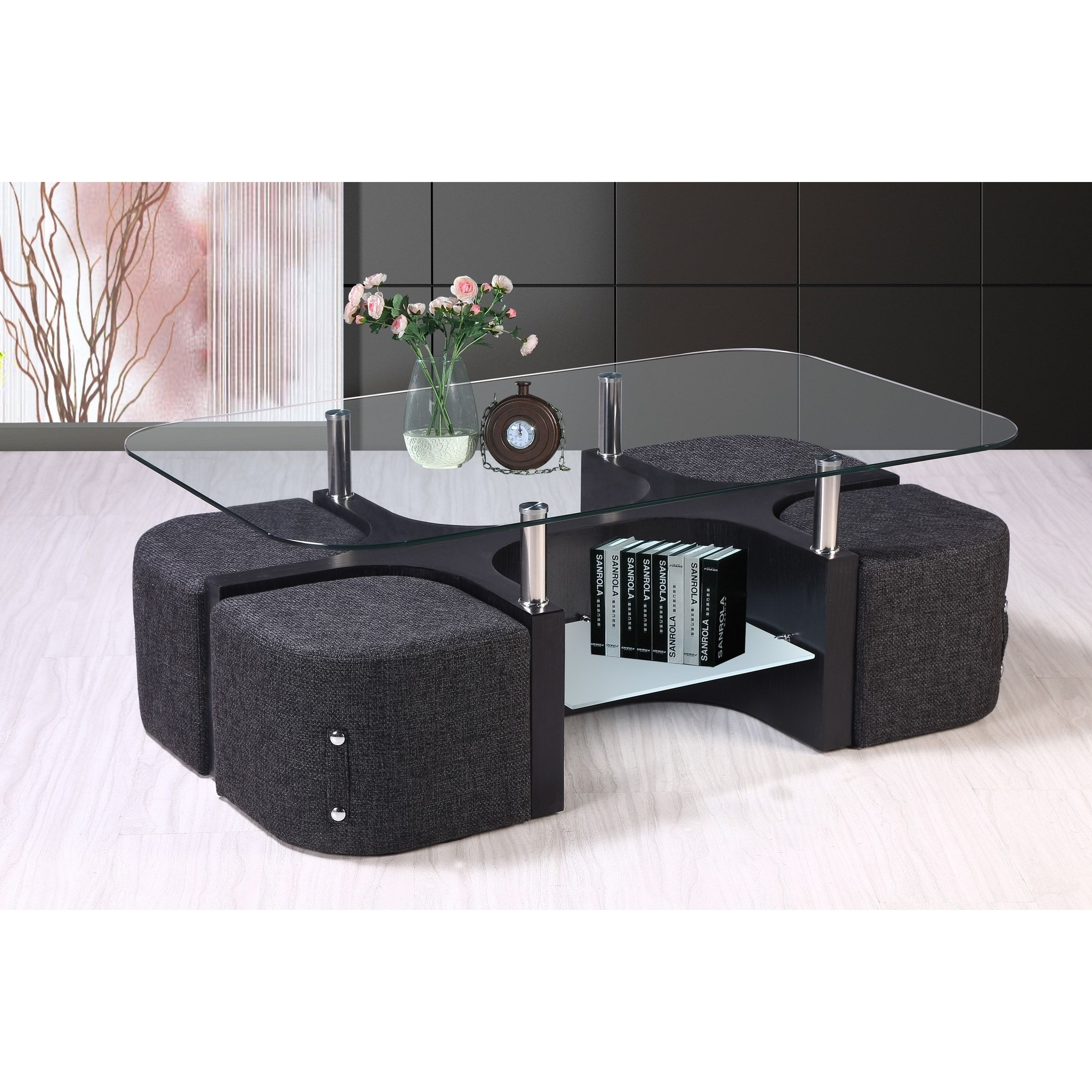 Overstock Com Online Shopping Bedding Furniture Electronics Jewelry Clothing More Coffee Table Coffee Table With Stools Coffee Table Design [ 2400 x 2400 Pixel ]